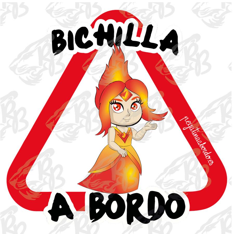 BICHILLA PRINCESA LLAMAS A BORDO