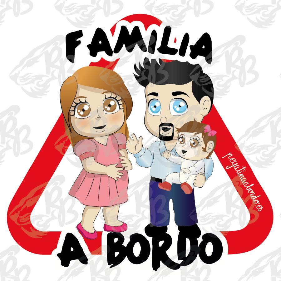 FAMILIA 01 CON NIÑA A BORDO