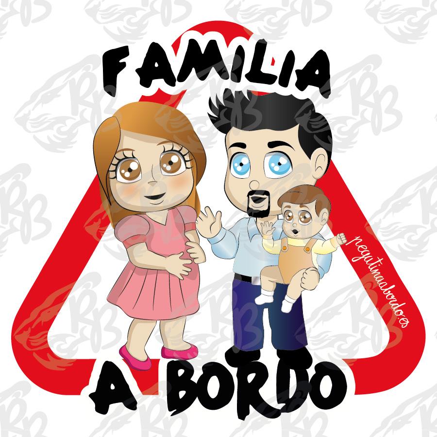FAMILIA 01 CON NIÑO A BORDO
