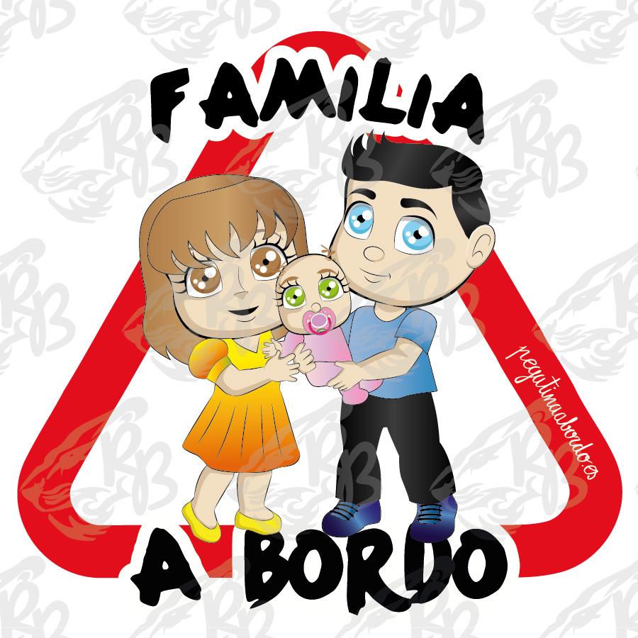 FAMILIA 02 CON NIÑA A BORDO