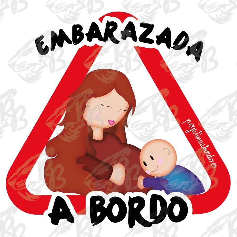 EMBARAZADA CON NIÑO A BORDO
