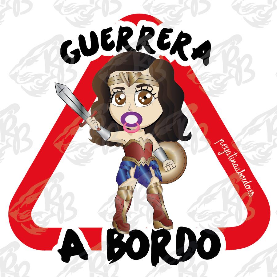 GUERRERA MARAVILLA A BORDO