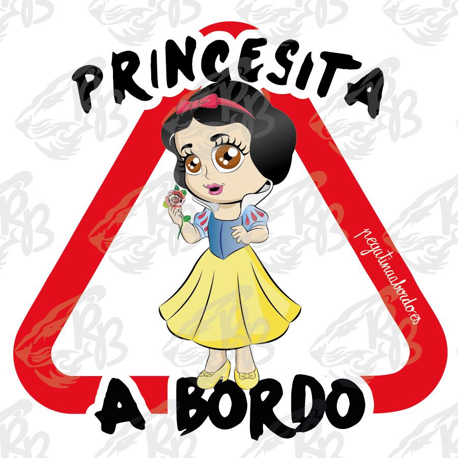 PRINCESITA PELO NEGRO A BORDO