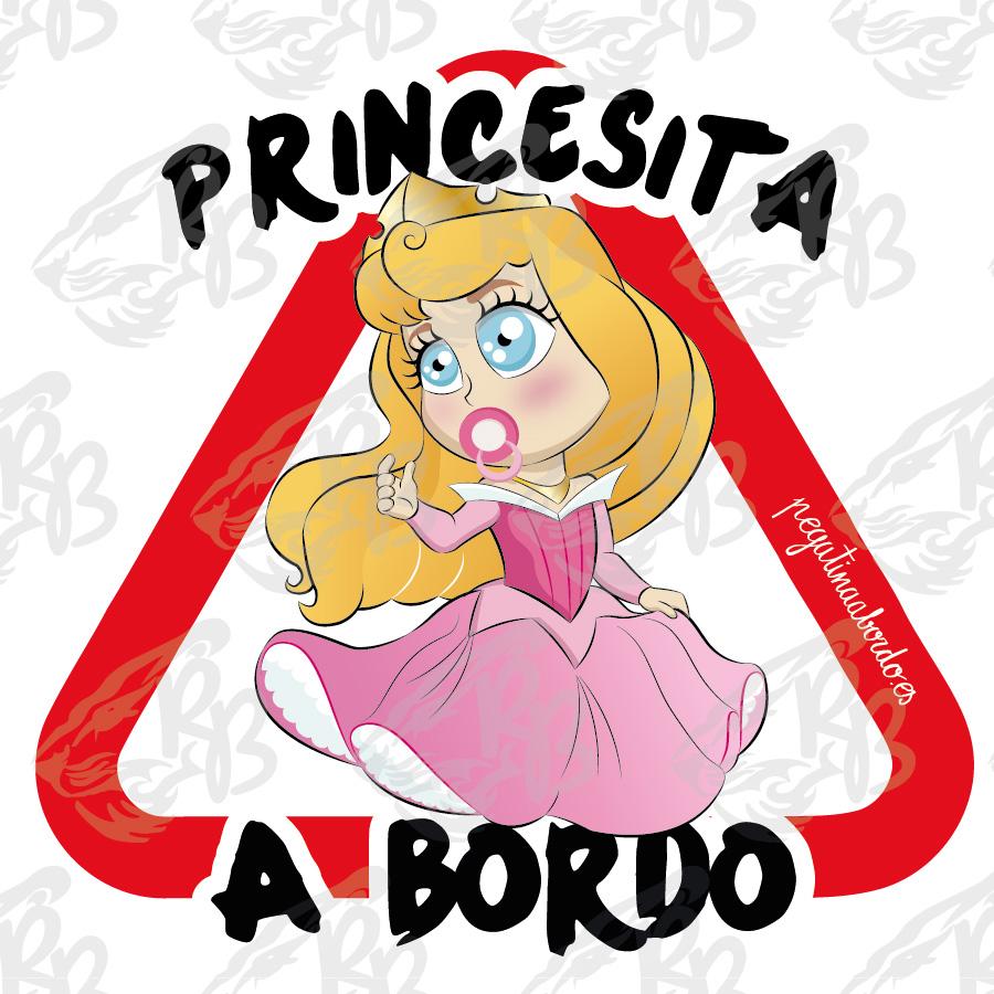 PRINCESITA ROSA A BORDO