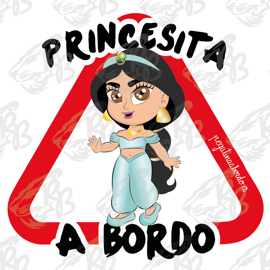 PRINCESITA ARABE A BORDO