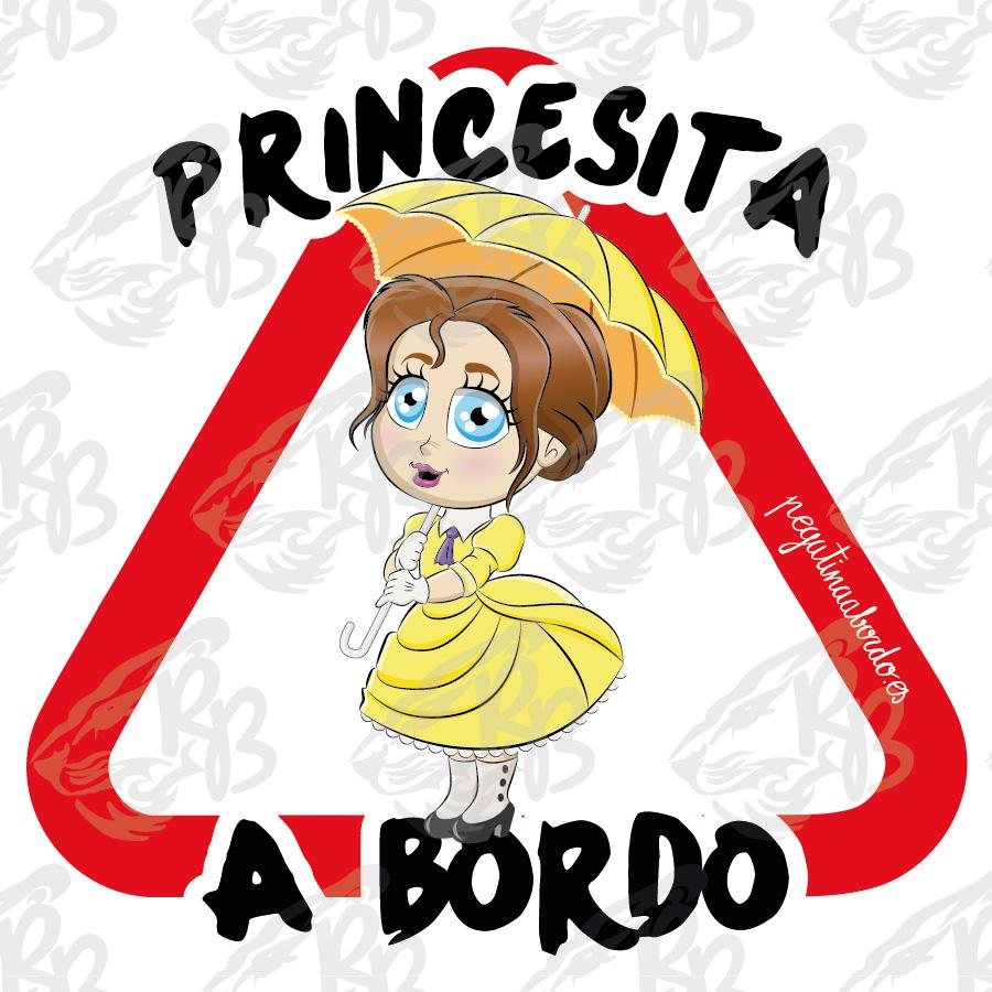 PRINCESITA SOMBRILLA A BORDO