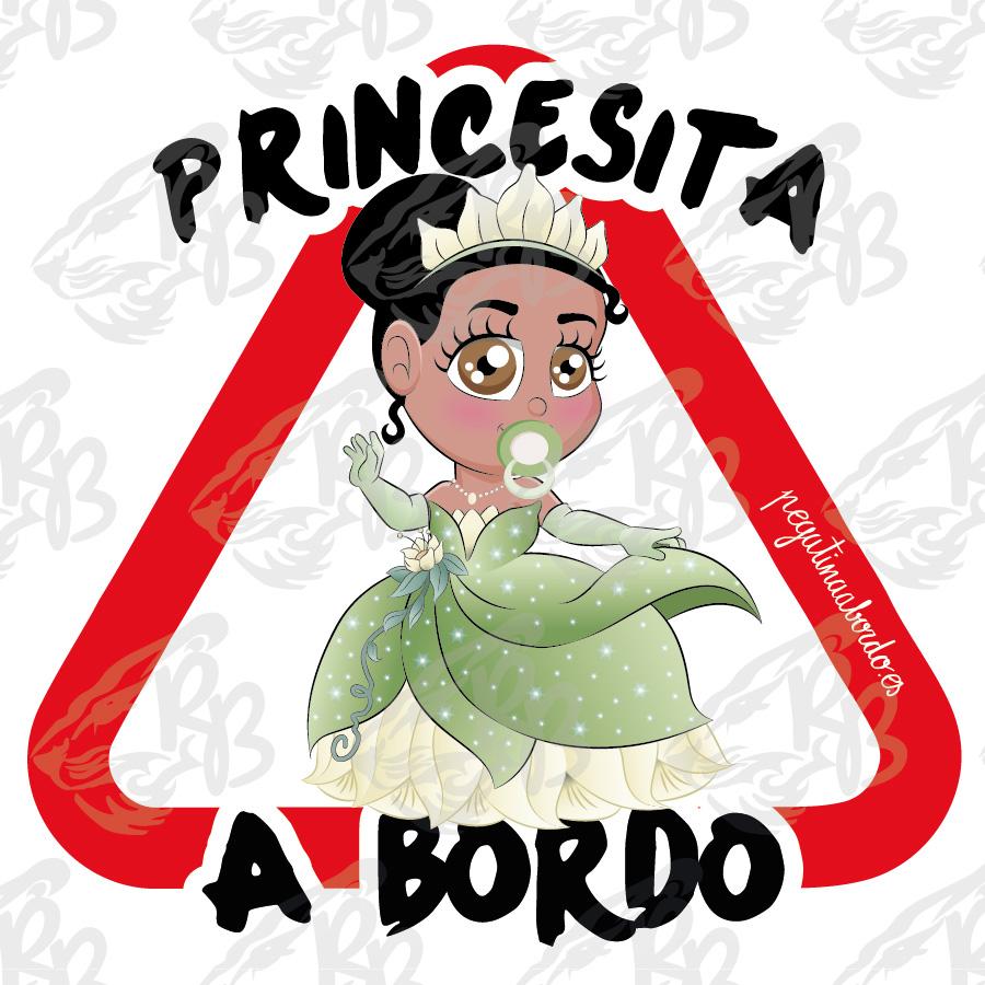 PRINCESITA FLOR A BORDO