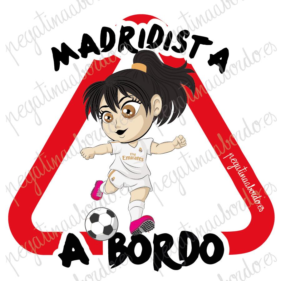 MADRIDISTA 02 CHICA A BORDO
